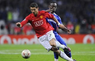 Cristiano Ronaldo scored against Chelsea in the 2008 Champions League final
