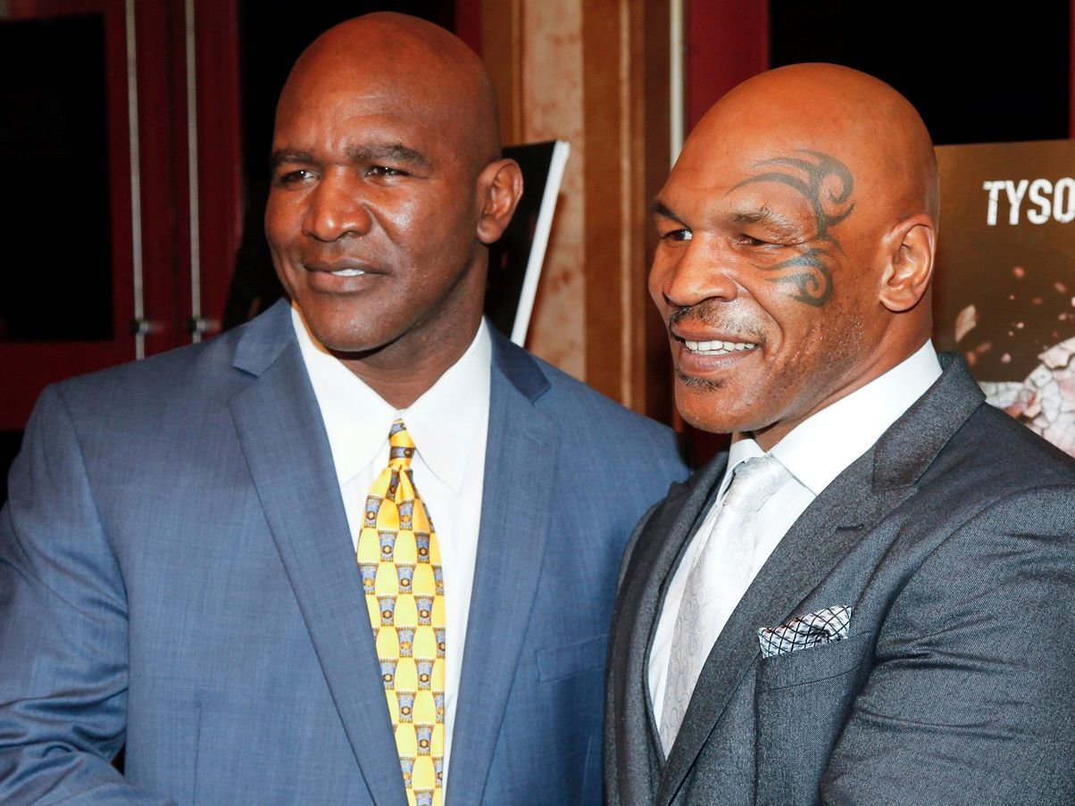 Mike Tyson rejects huge offer to fight Evander Holyfield   GiveMeSport