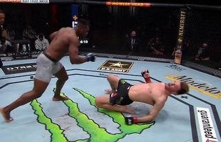 Francis Ngannou is the UFC Heavyweight Champion