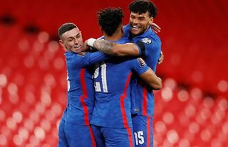 Phil Foden, Ollie Watkins and Tyrone Mings