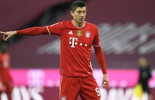 Bayern striker, Robert Lewandowski