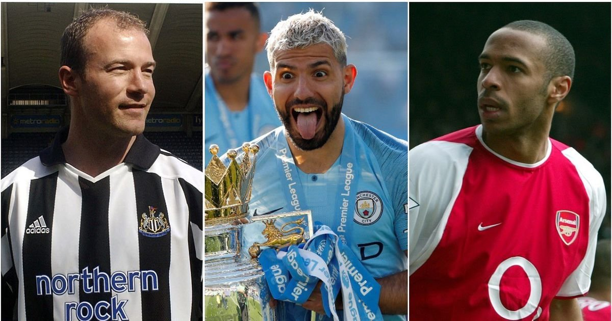 The 40 players with the best minutes-per-goal records in Premier League history
