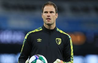 Begovic has made 36 appearances in the Championship this season.