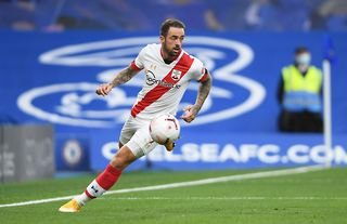Southampton attacker Danny Ings in action