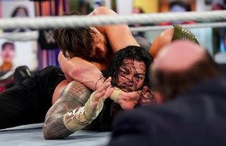 Reigns has brilliantly explained 'tapping out' at WWE Fastlane