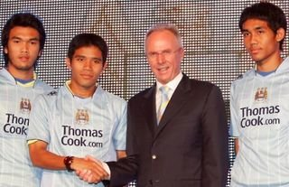In 2007, Man City signed three players from Thailand...