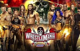WWE WrestleMania airs live this weekend with a stacked match card