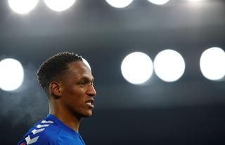 Yerry Mina could leave Everton this summer