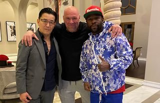 Dana White teases fans after cryptic post with Floyd Mayweather