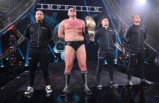 WALTER has been named as WWE's longest-reigning champion