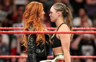 Lynch and Rousey