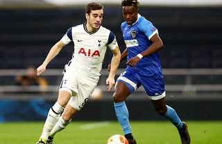 Tottenham midfielder Harry Winks