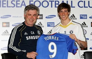 Fernando Torres' move to Chelsea is one of the 10 most shocking transfers of all-time