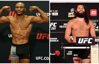 Kamaru Usman and Jorge Masvidal will face off in the main event at UFC 261