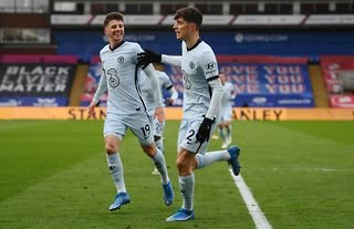 Kai Havertz in action for Chelsea vs Crystal Palace