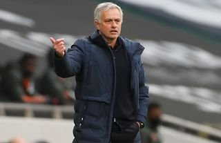 Jose Mourinho in Tottenham 1-3 Man United