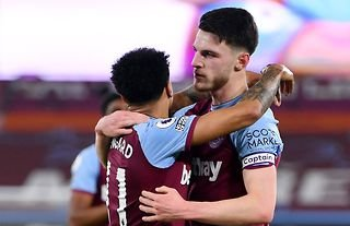 West Ham United duo Declan Rice and Jesse Lingard