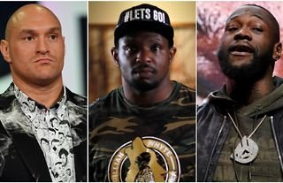 Dillian Whyte has torn apart Tyson Fury and Deontay Wilder's professional boxing record