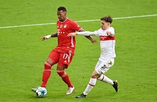 Bayern Munich defender Jerome Boateng in action
