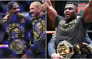 Jon Jones Francis Ngannou