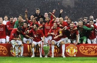 Manchester United won the Champions League in 2008