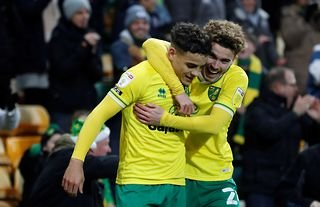 Norwich defender and Everton target Max Aarons
