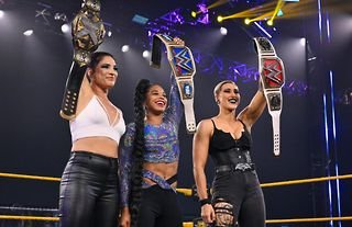 WWE NXT results as WrestleMania champions return