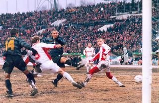 Ronaldo scored twice for Inter Milan in a 2-1 win vs Spartak Moscow