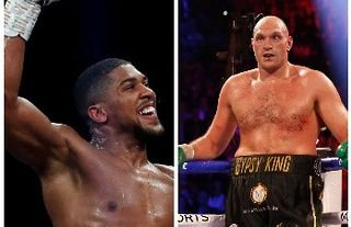Anthony Joshua will face Tyson Fury inside the ring this year