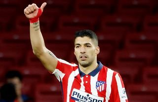 Atletico Madrid forward and Liverpool target Luis Suarez