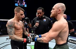 Dustin Poirier and Conor McGregor were involved in a very public spat this week