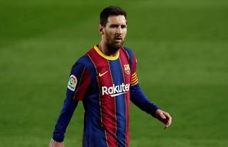Lionel Messi has been in great goalscoring form for Barcelona this year