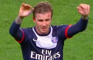 David Beckham retired in 2013 after a brief spell with Paris Saint-Germain