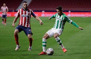 Real Betis defender, Leeds and West Ham target Alex Moreno