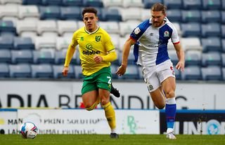 Norwich City defender and Everton target Max Aarons