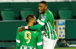 Emerson in action for Betis