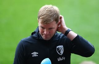 Eddie Howe convinced he can get the Crystal Palace job