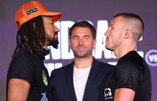 Demetrius Andrade Liam Williams