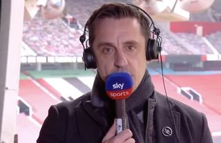 Gary Neville made his feelings about the European Super League very clear...