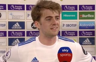 Patrick Bamford after Leeds 1-1 Liverpool