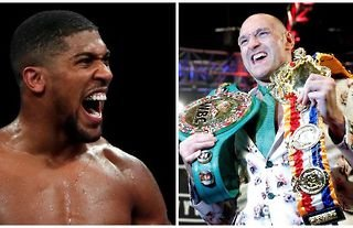 Anthony Joshua and Tyson Fury look set to face off in one of the biggest fights in British boxing history
