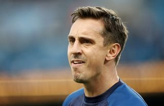 Arsenal Fan TV's DT is furious with former Manchester United defender Gary Neville