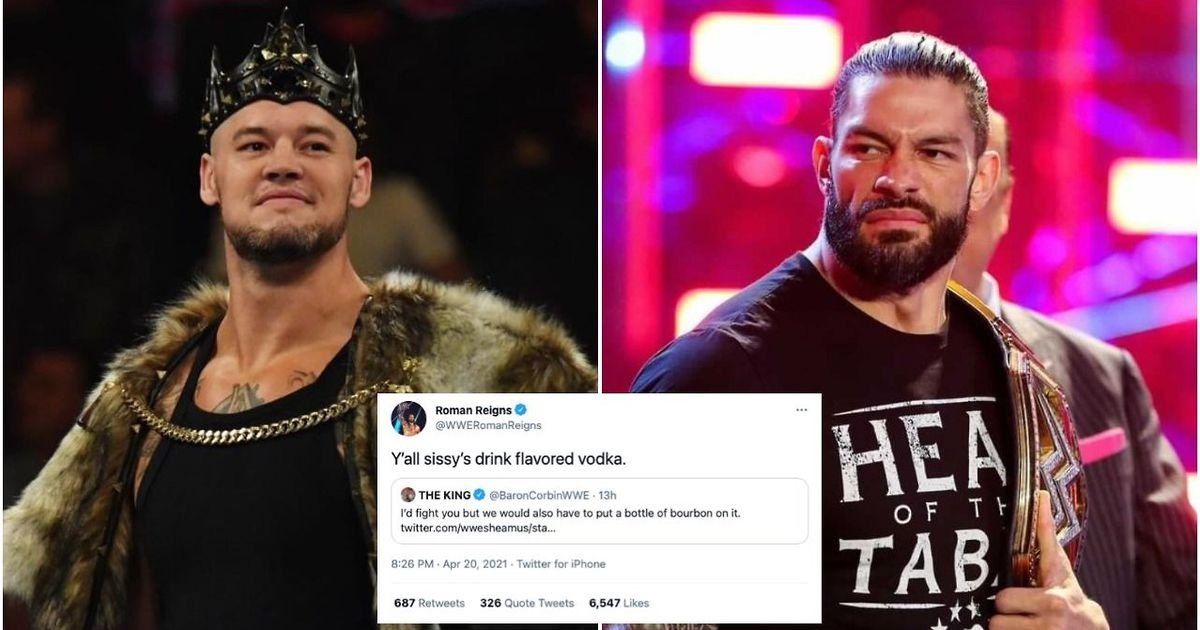 Roman Reigns involved in heated Twitter spat with fellow WWE SmackDown Superstar - GIVEMESPORT