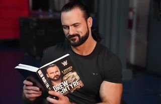 McIntyre's book - recounting his incredible WWE journey - is available to buy