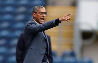 Chris Hughton has delivered a defiant Nottingham Forest verdict