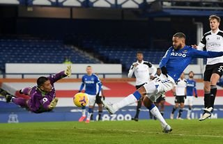 King has failed to find the back of the net during his time with Everton