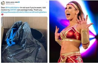 WWE fire disrespectful employee who sent released talent items in a trash bag