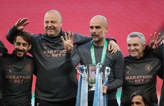 Pep Guardiola and Manchester City won the 2020/21 Carabao Cup