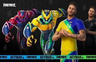 Neymar JR is now a playable character in Fortnite