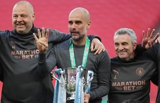 Pep Guardiola won his 30th trophy as a manager last weekend